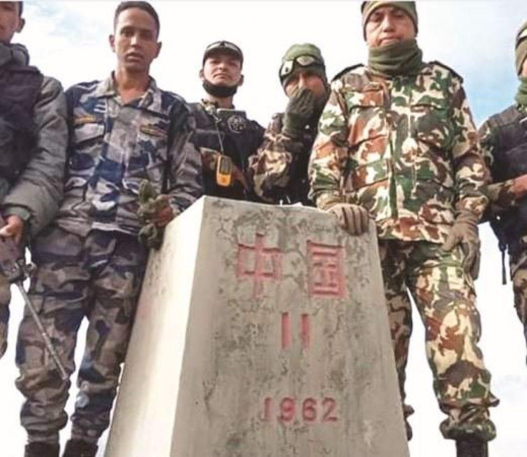 हराएको भनिएको नेपाल–चीन सीमा छुट्याउने ११ नम्बर स्तम्भ भेटियो