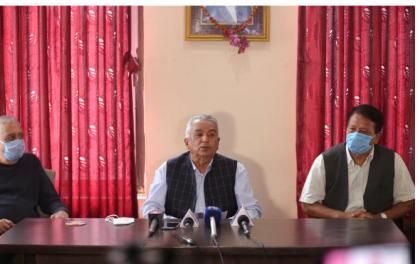 देउवाविरूद्ध पौडेल पक्षले दर्ता गरायाे ज्ञापनपत्र, कोइरालालगायत २७ केन्द्रीय सदस्यले बुझाए हस्ताक्षर