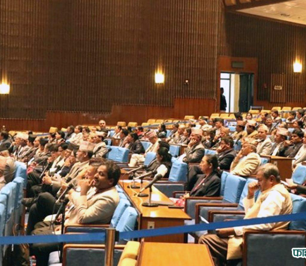 सरकार प्रवक्ताको बर्खास्तीको माग गर्दै कांग्रेसद्वारा संसद बैठकमा अवरोध