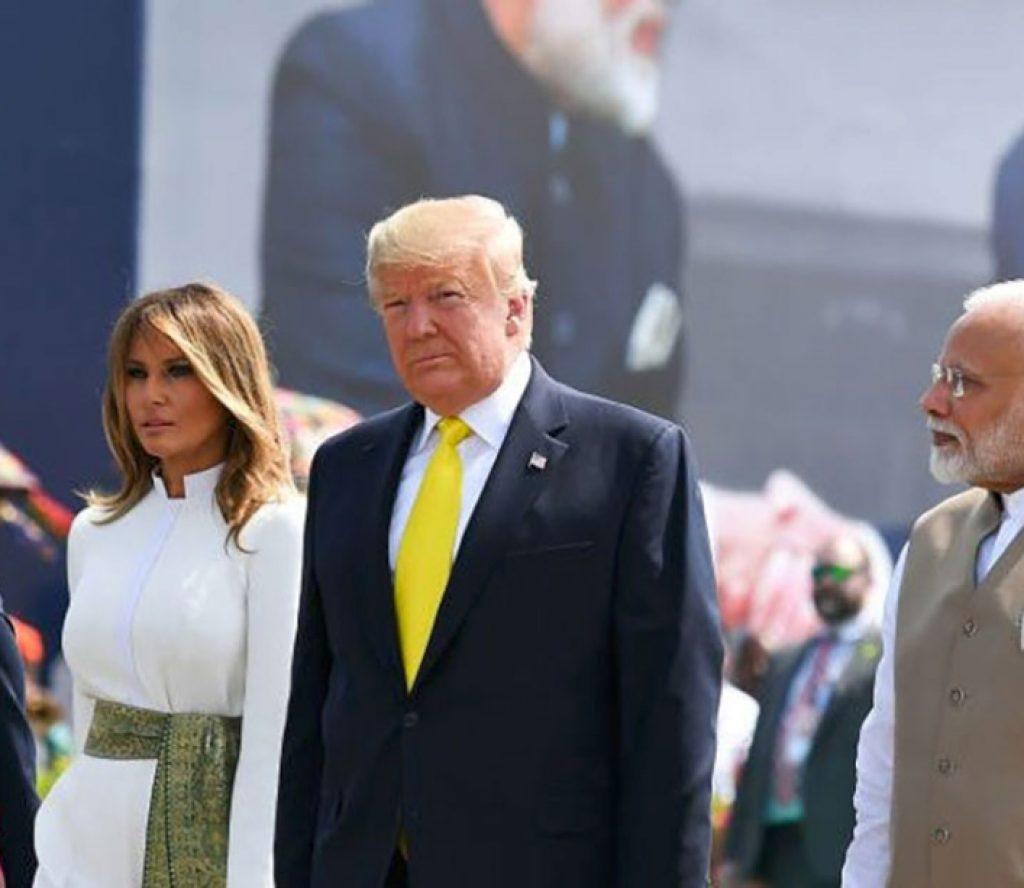 ट्रम्पको भारत भ्रमणः 'भारत–अमेरिका साथसाथ'