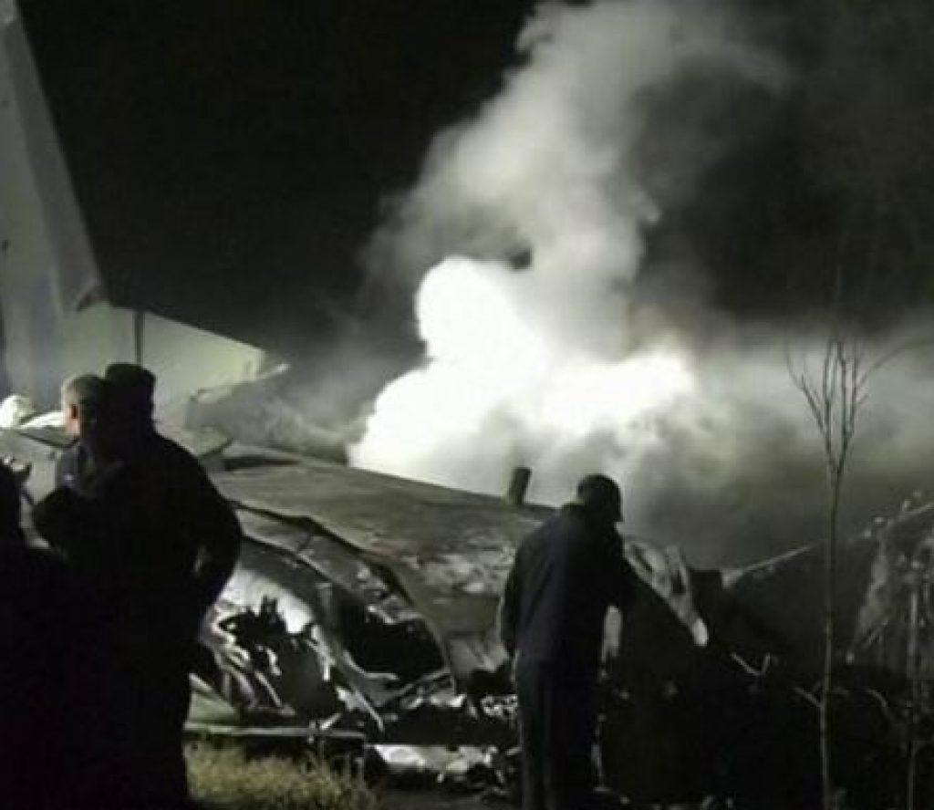 सैनिक विमान दुर्घटनामा २५ जनाको मृत्यु