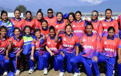 महिला क्रिकेटमा नेपाललाई कास्य पदक